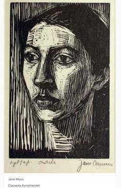Jane Muus, print - Laila