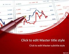 Business Chart PPT Template