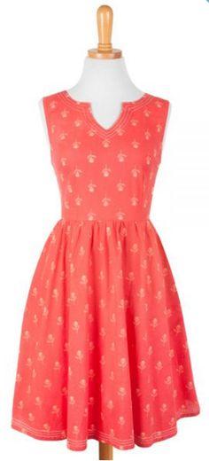 Art Fair Dress Red