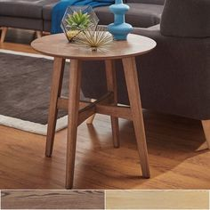 Rona Wood End Table by MID-CENTURY LIVING