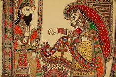 Sita and Raja Janak