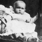 """One-year-old Sidney Goodwin died aboard the Titanic. His was one of the first bodies recovered. A monument was resurrected in honor of the """"Unknown Child."""""""