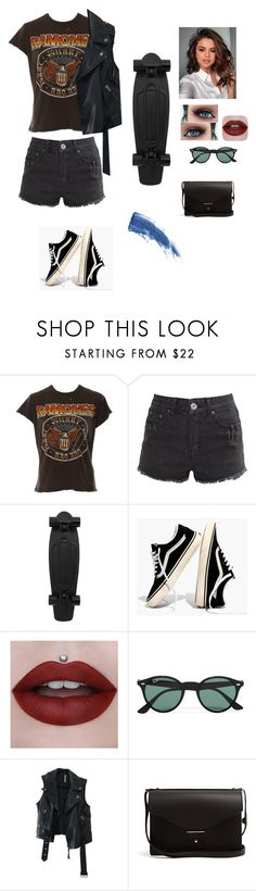 """""""My Life💙🌹"""" by francyrizzo ❤ liked on Polyvore featuring MadeWorn, Liquor n Poker, Madewell, Ray-Ban, Free People, PB 0110 and Eyeko"""