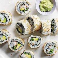 party sushi rolls...super easy to make!