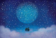 Ilustrações mágicas de Roberto Weigand