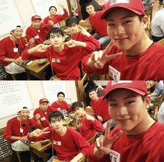 #Running Man #VIXX (Ravi, Hyuk, Ken) #MonstaX (Jooheon,  Shownu)