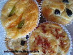 QUITUTES DA ANDRÉA: Muffins salgados