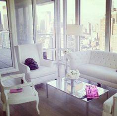 White glam decor love ♡♡