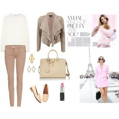 """""""Saturday in Pink!"""" by irene-ge on Polyvore"""