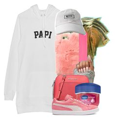 """""""Untitled #867"""" by kaja-bear ❤ liked on Polyvore featuring Victoria's Secret, Michael Kors, Therapy and Puma"""