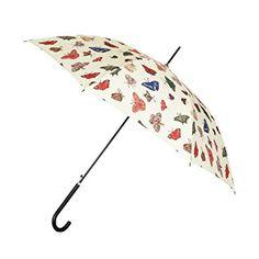 Paraguas estampado con mariposas