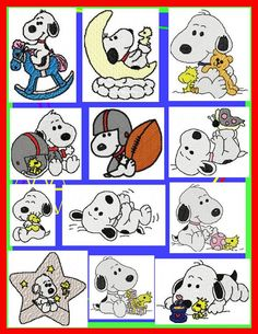 baby snoopy - Google Search