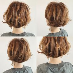 Japanese hairstyle design has always had its characteristics. So today we have collected 65 kinds of Japanese Messy short hairstyles idea. Let's look for amazing hair inspiration. Short Wavey Hair, How To Curl Short Hair, Short Hair Cuts, Cool Short Hairstyles, Short Bob Hairstyles, Wig Hairstyles, Medium Hair Styles, Curly Hair Styles, Japanese Hairstyle