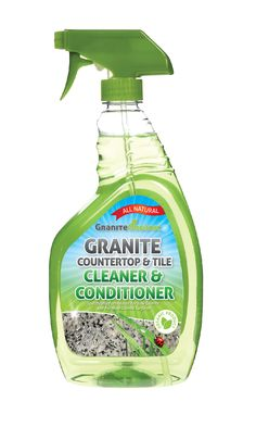 I could use this on my granite - all natural, 100% organic, kid & family safe, no streaking and it really cleans and conditions!