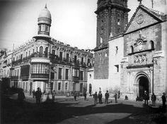 La Plaza San Sebastián en 1942 #Antequera