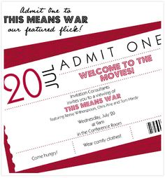 IC movie day: this means war!