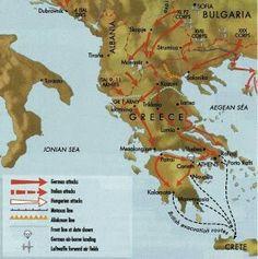Operation Marita map - pin by Paolo Marzioli