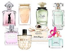 Undecided on your spring signature fragrance? Here are all the novelties for 2014!   #beauty #parfum #perfume #eliesaab #guerlain #cartier #dolce&gabbana #marcjacobs #marni #ferragamo #dior #spring2014