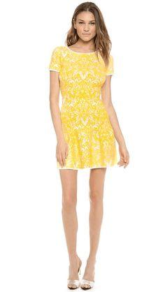 Love the BCBG Max Azria Bambi Dress on Wantering | Mellow Yellow Fashion | womens short dress #womensdress #womenswear #womensstyle #style #womensfashion #fashion #GIF #gif #gifs #fashiongifs #BCBG #wantering http://www.wantering.com/womens-clothing-item/bambi-dress/agoKA/