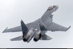 """Sukhoi """"Flanker Plus"""" Russian Fighter Jets, Russian Jet, Black Beast, Sukhoi, Royal Air Force, Military Life, Fighter Aircraft, Military Aircraft, Aviation"""