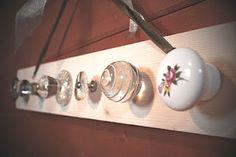Everything Lily: DIY - Door Knob Necklace Holder