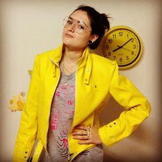 Jaqueta de couro - Amarela - Edição Limitada R$230.00