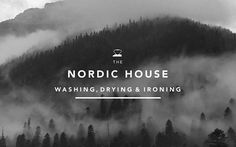 type overlay /// Nordic House designed by Anagrama