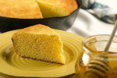 This super-quick cornbread recipe is slathered with honey butter.