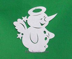 paper snowman patterns