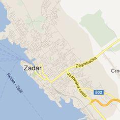 Zadar Hostels Map, Croatia | Hostelworld.com