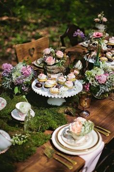 Whimsical Wonderland Tablescape   Photo By Matt And Ashley Photography
