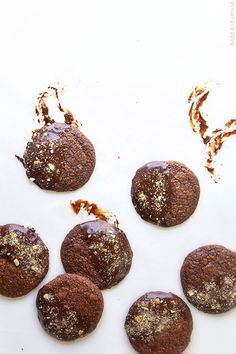 Brownie Cookies Dipped in Chocolate and Pretzels | Bakers Royale @Bakers Royale | Naomi