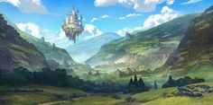 lost valley by TylerEdlinArt on DeviantArt