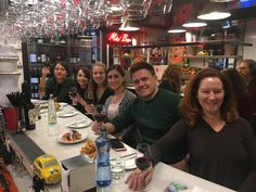 The whole team enjoying some delicious tapas in the heart of Barcelona #ilivespain #Barcelona #Tapas