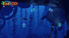 Image result for donkey kong country underwater Donkey Kong Country, Pixel Art, Underwater, Frozen, Tropical, Animals, Image, Animales, Animaux