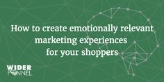 But great marketers tap into their customers' core motivations to create emotionally relevant experiences. Customer Behaviour, Viral Marketing, Customer Engagement, Customer Experience, In Writing, Improve Yourself, Connect, Campaign, Motivation