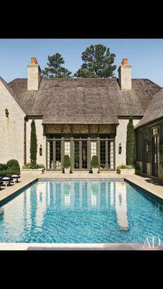 Courtyard pool....