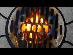 Rocket Stove -- version 2 - YouTube