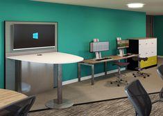 Commercial Offices – Spatial Design Offices, Corner Desk, Commercial, Furniture, Design, Home Decor, Corner Table, Decoration Home, Room Decor