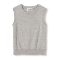 Baby Boys Toddler Boys Sweater Vest - Gray - The Children's Place
