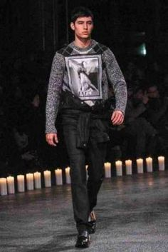 Givenchy Menswear AW13 photographs from style.com