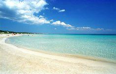 """Spiaggia """"Le maldive del Salento"""" - punta prosciutto."""