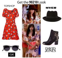 Dusty Petals: Fashion Comeback- Beverly Hills 90210