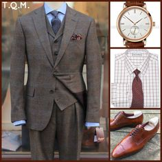 BUSINESS STYLE: Bladen(Suit)-Hengli(Watch)-Paul Fredrick(Shirt Tie Option)-Ramon Cuberta(Shoes)