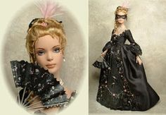 I am absolutely in awe of these beautifully crafted dolls created by Cheryl Crawford!!  I love how she has transformed so many iconic charac...