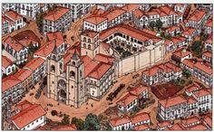 Luís Diferr  tornou-se conhecido como autor de Banda Desenhada, mas a sua recente obra intitulada Portugal insere-se ...