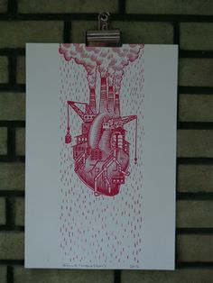 Love Factory Heart Print