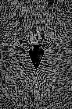 Arrowhead by Sam Larson. I absolutely love this artist.