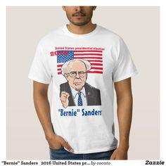 """""""Bernie"""" Sanders 2016 United States presidential Tee シャツ"""