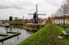 Heusden vesting (Brabant) Nederland